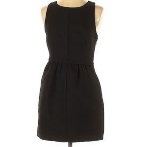 Anthropologie Maeve Black Crossback Dress